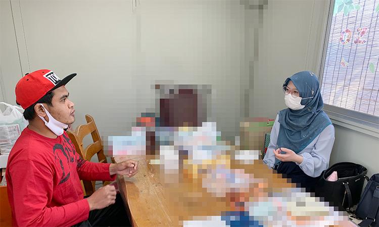 ムスリムさん:インドネシア人